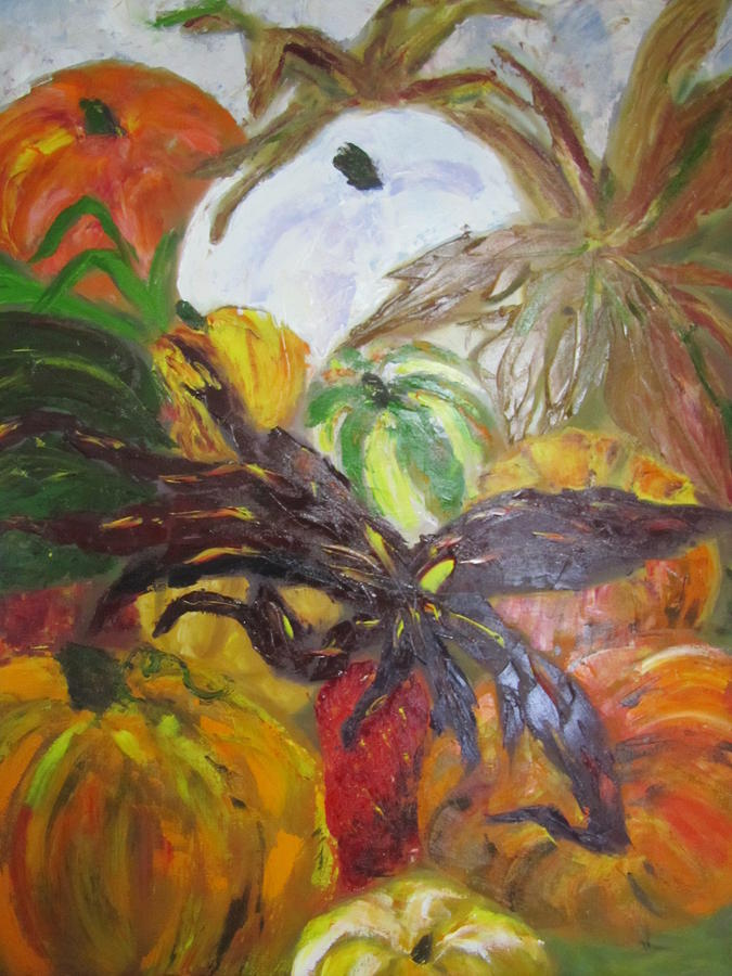 Fall Painting - Full of Fall by Jenell Richards