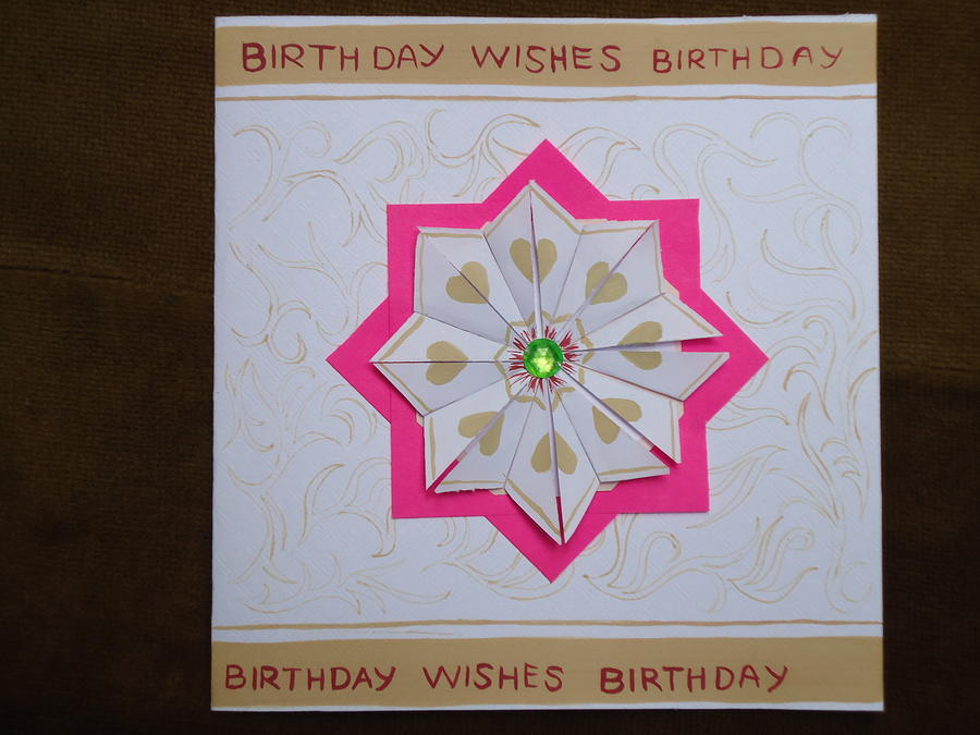 Fully customized handmade greeting card mixed media by shayaf m4hsunfo