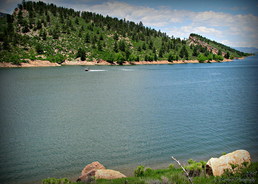 Horsetooth Reservoir Photograph - Fun At The Lake by Aaron Burrows