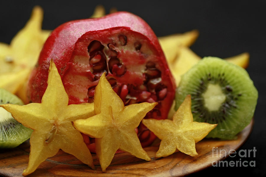 Green Photograph - Fun With Fruit by Inspired Nature Photography Fine Art Photography