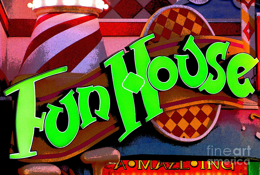 Fun House Photograph - Funhouse by Colleen Kammerer