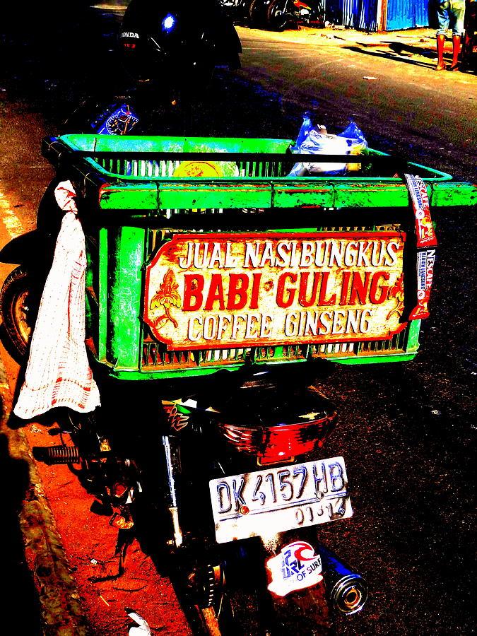 Bali Photograph - Funky Balinese Motorbike by Funkpix Photo Hunter