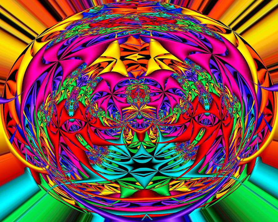 Funky diva digital art by twilight vision for Funky diva