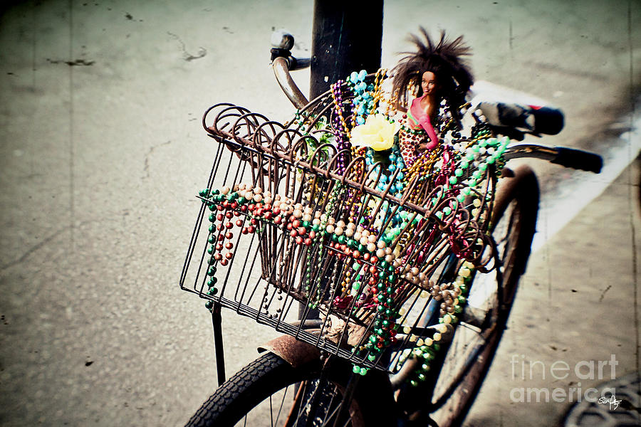 Bicycle Photograph - Funky Ride 2 by Scott Pellegrin