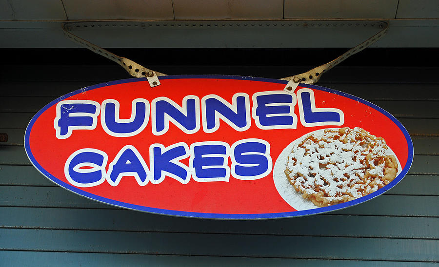 Fair Photograph - Funnel Cakes by Skip Willits