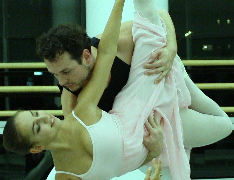 Ballet Photograph - Furtive Glance  by Wendy Potocki