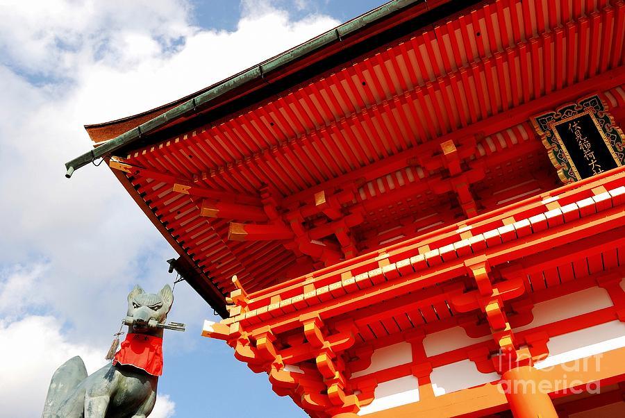 Fushimi Photograph - Fushimi Inari Shrine I by Dean Harte