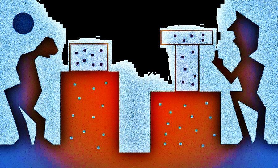 City Digital Art - Gabangbang by Richard Lloyd