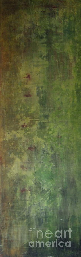 Abstract Painting - Gabbianno by Vanessa Grant