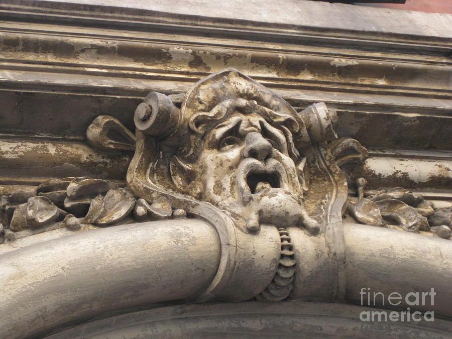 Architecture Pyrography - Gaging Choking by John Malone