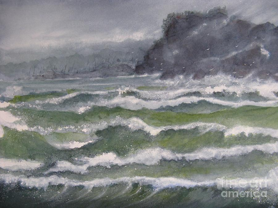 Sea Painting - Gale Force by Ronald Tseng