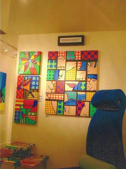 Gallery Painting by Jordan  Robert