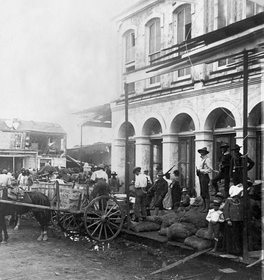 Galveston Photograph - Galveston Flood - September - 1900 by International  Images