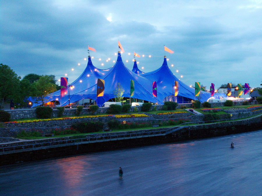 Arts Festival Photograph - Galway Arts Festvial Big Top Tent by Patrick Dinneen & Galway Arts Festvial Big Top Tent Photograph by Patrick Dinneen