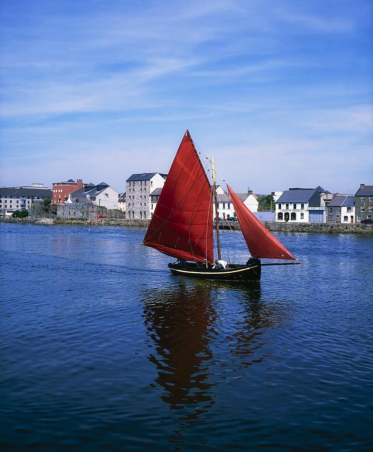 Bending Photograph - Galway, Co Galway, Ireland Galway by The Irish Image Collection