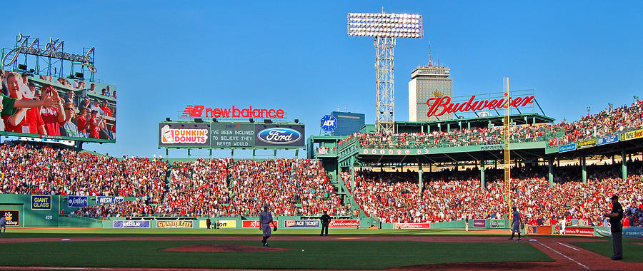 Fenway Park Photograph - Game Day by Joann Vitali