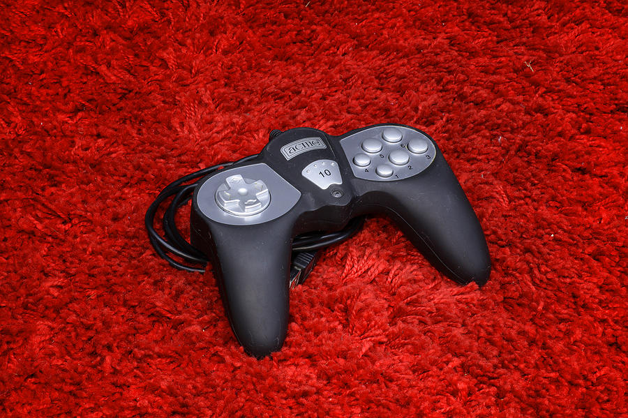 Gamepad Photograph - Game On by Rimantas Vaiciulis