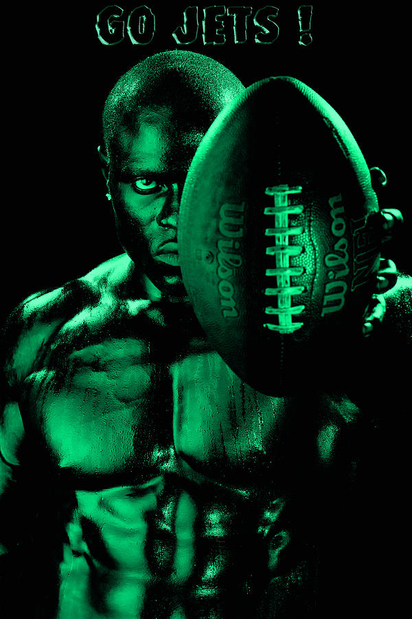 Football Photograph - Gang Green Challenge by Val Black Russian Tourchin