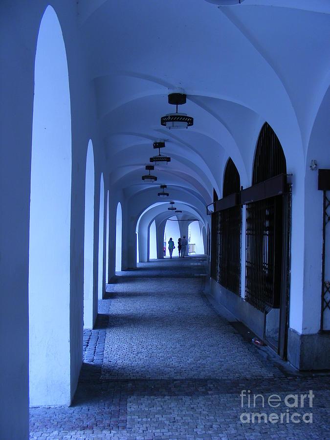 Gangway Pyrography - Gangway In Old Prague by Sorin Fota