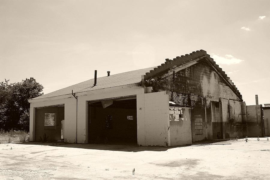 Garage Photograph - Garage No More by Nina Fosdick