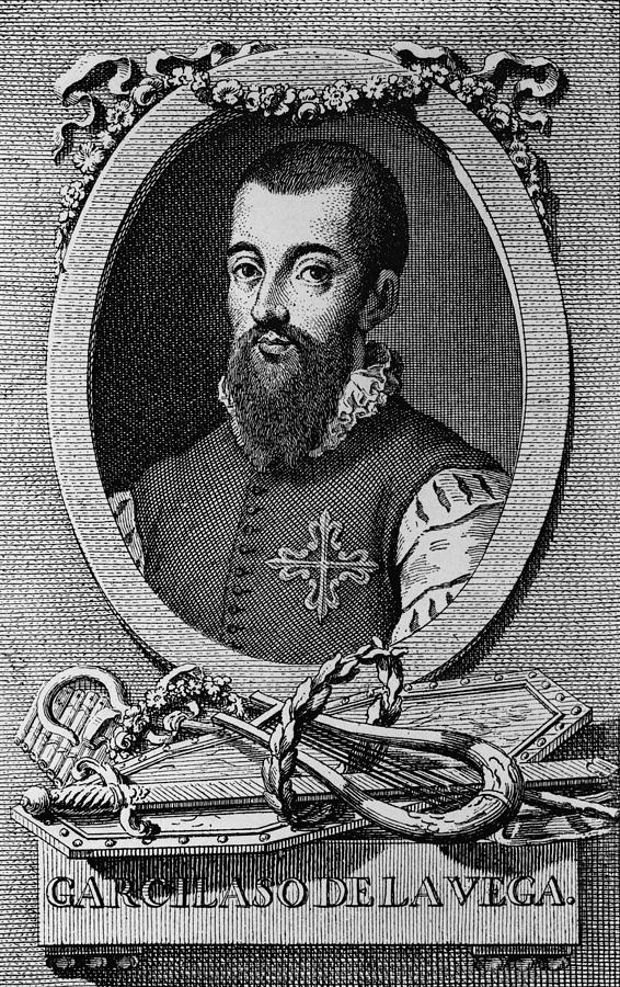 Author Photograph - Garcilaso De La Vega 1503-1536 Spanish by Everett
