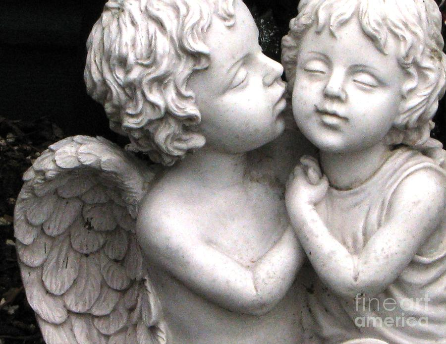 Garden Angels Photograph by Judyann Matthews