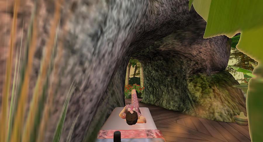 Garden Digital Art - Garden Cave Lounging by Amy Bradley