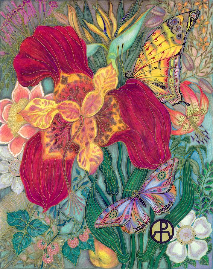 Garden of Eden - Flower by Ellie Perla