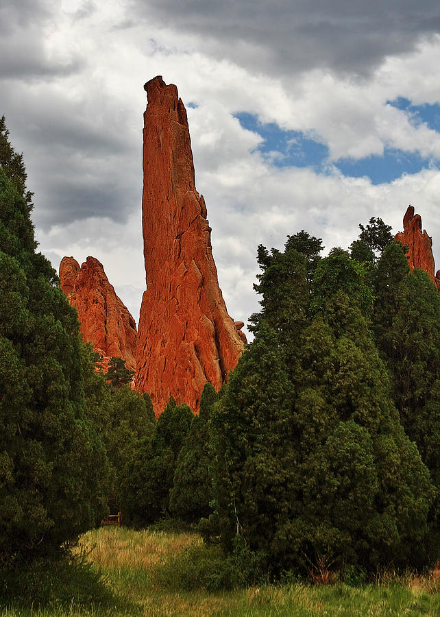 Manitou Springs Photograph - Garden Of The Gods - A Breathtaking Natural Wonder by Christine Till