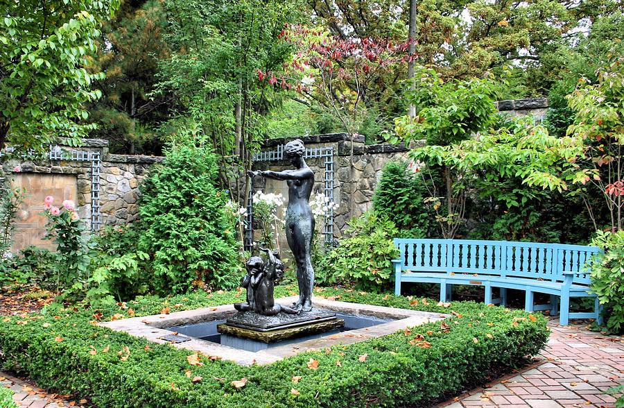 Garden Photograph - Garden Statuary by Kristin Elmquist