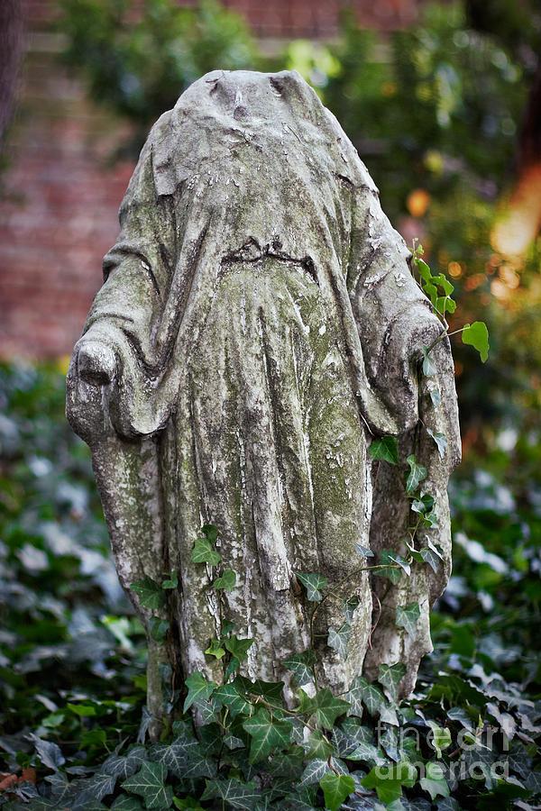 Headless Photograph - Garden Torso by Susan Isakson