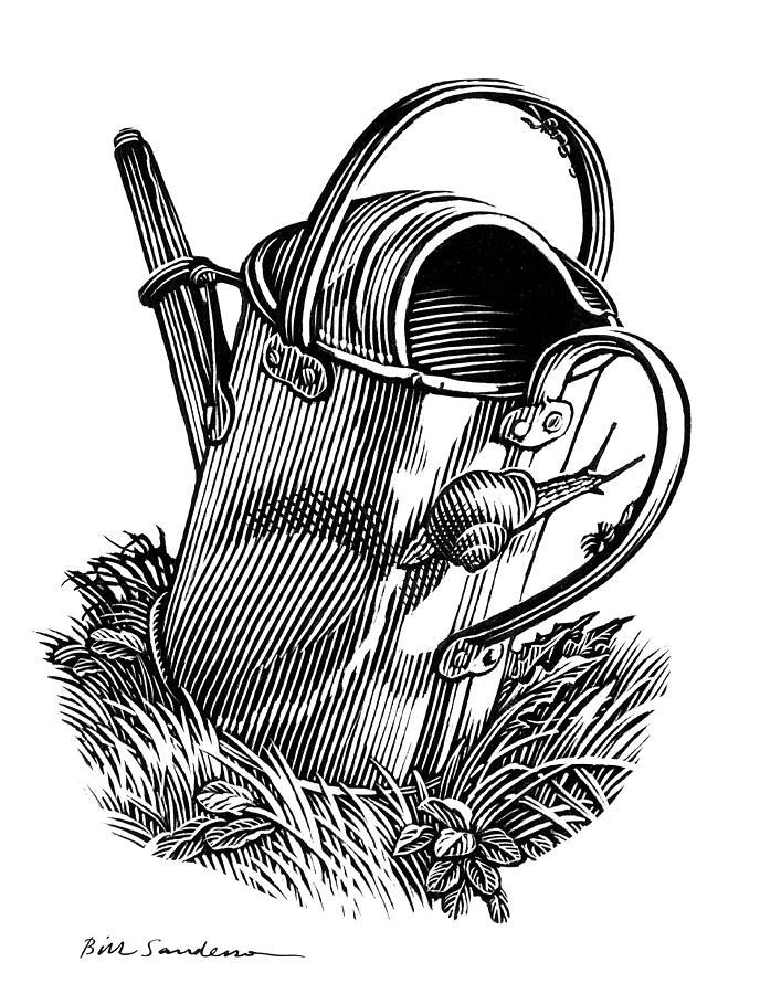 Animal Photograph - Gardening, Conceptual Artwork by Bill Sanderson