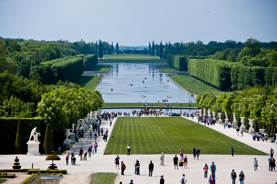 Gardens At Palace Of Versailles France Photograph By Jon Berghoff