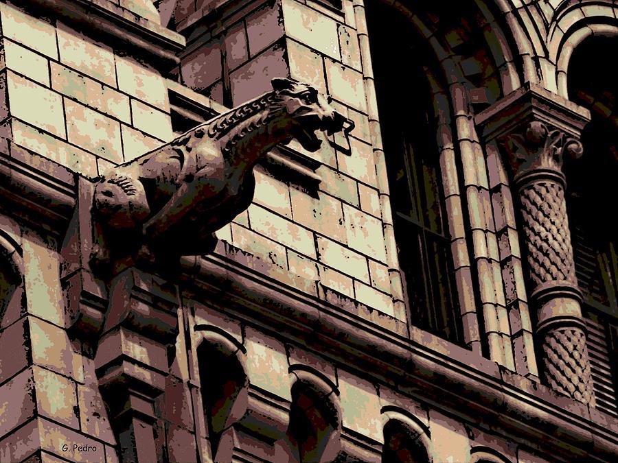 Gargoyle Photograph - Gargoyle by George Pedro