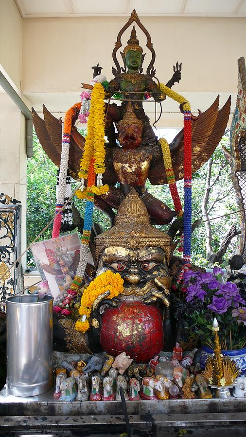 Garuda Vishnu Shrine Photograph by Gregory Smith