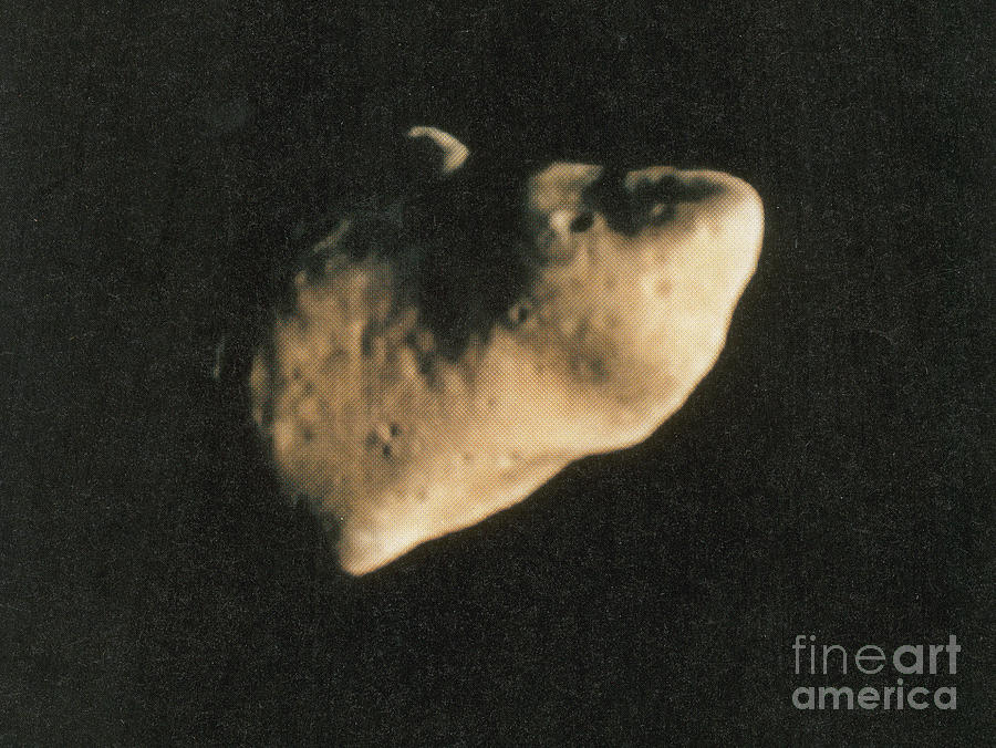 Science Photograph - Gaspra, S-type Asteroid, 1991 by Science Source