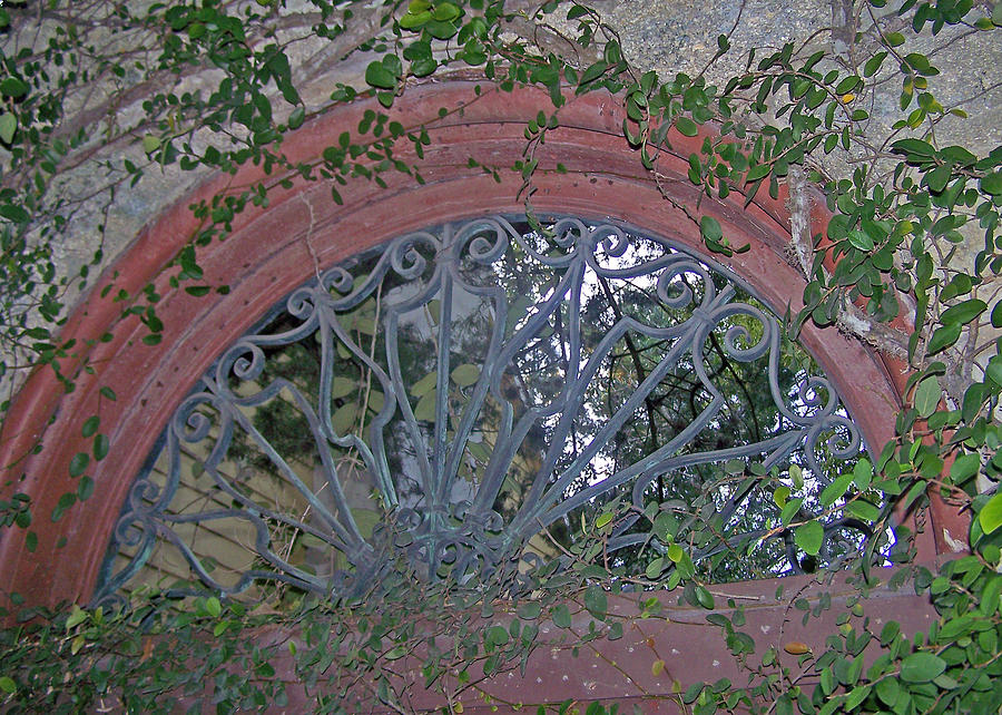 Iron Work Photograph - Gate To The Courtyard by Patricia Taylor