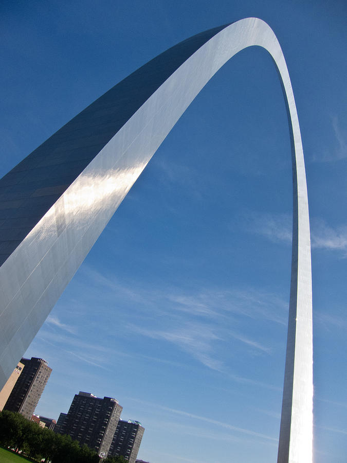 Gateway Arch In St Louis Photograph