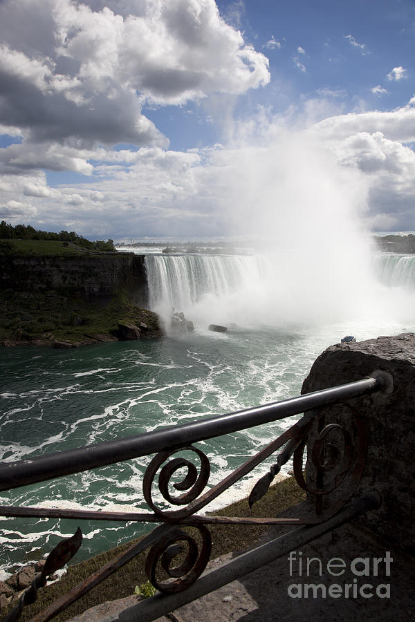 Niagara Photograph - Gateway To Beauty by Amanda Barcon