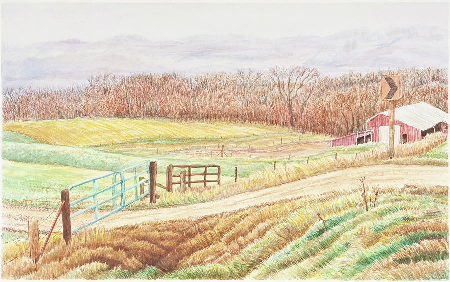 Painting Painting - Gateway To Springwater by David Bratzel