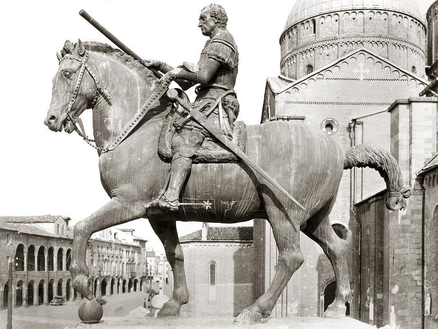 15th Century Photograph - Gattamelata (1370-1443) by Granger