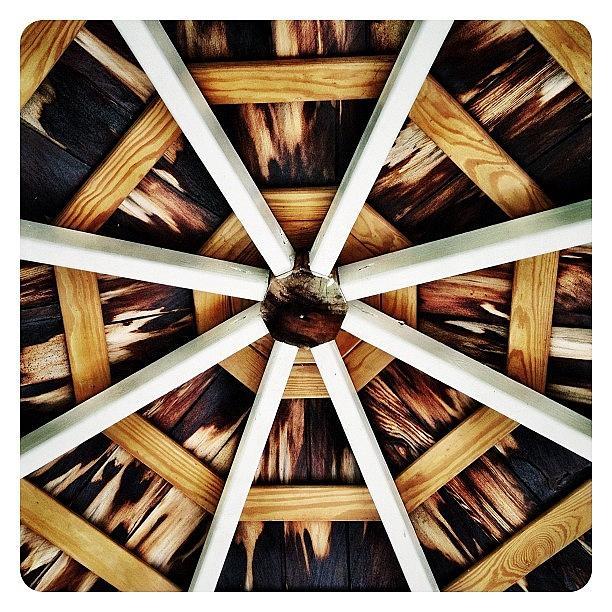 Symmetry Photograph - Gazebo by Natasha Marco