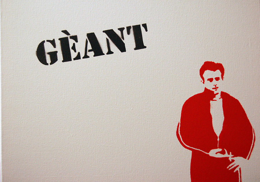 James Dean Painting - Geant by Michael Ringwalt