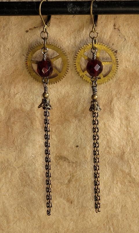 Jewelry Jewelry - Gearrings IIi by Jan Brieger-Scranton