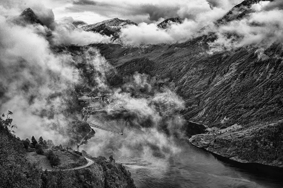 Landscape Photograph - Geiranger Fjord by A A