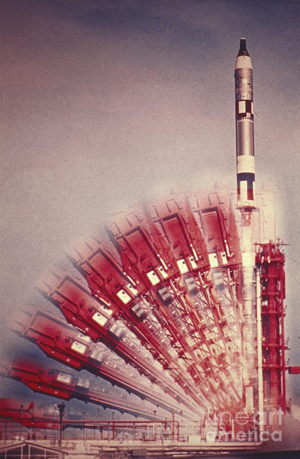 Transport Photograph - Gemini 10 Launch by Science Source