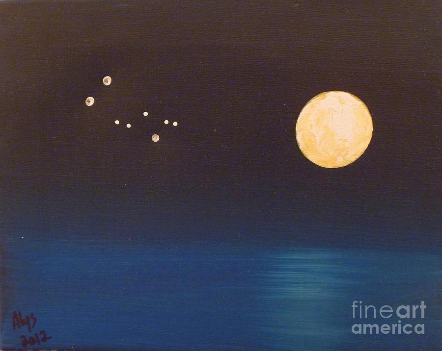 Gemini Painting - Gemini by Alys Caviness-Gober