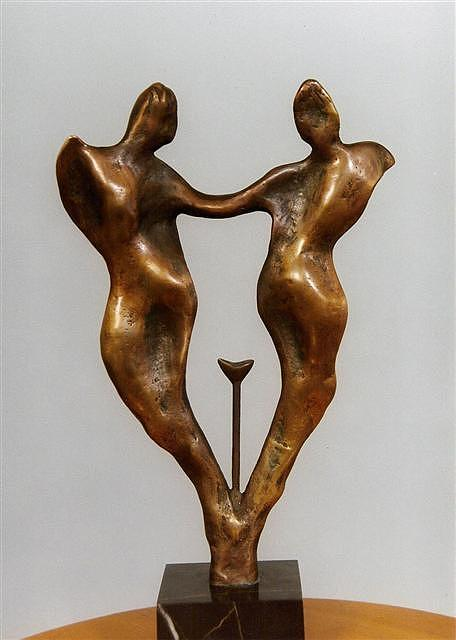 Gemini Sculpture by Antonio Petrov