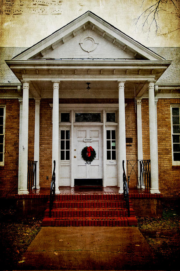 Door Photograph - Genealogical Library  by Toni Hopper