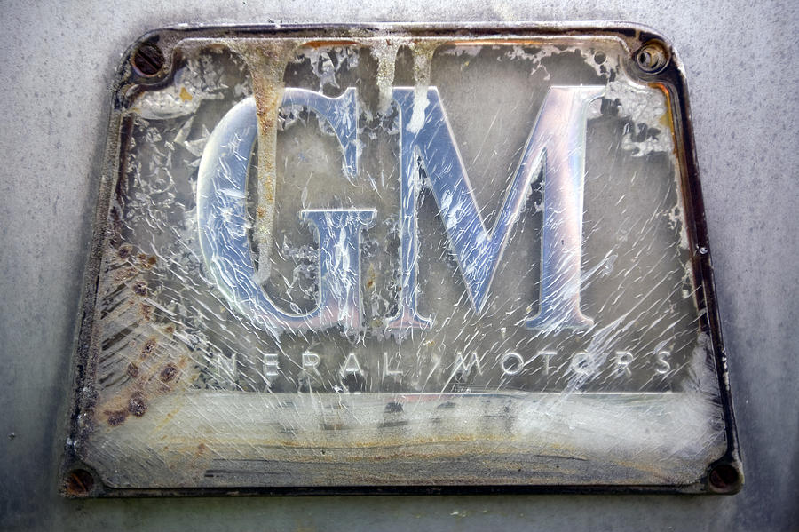 Automotive Photograph - General Motors by Luc Novovitch